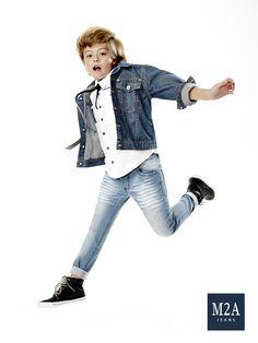M2A Jeans | Fall Winter 2015 | Kids Collection | Outono Inverno 2015 | Coleção Infantil | calça jeans infantil masculina; jaqueta jeans; look infantil; denim kids.
