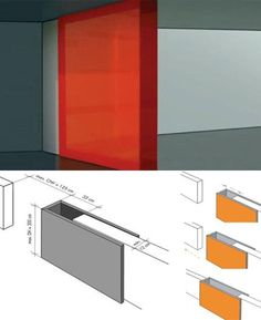 Hollow Wall slides - is the door