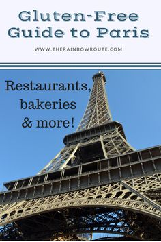 Find delicous, gluten-free food all over Paris!