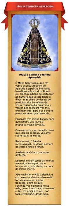 Santinhos Virtuais – Nossa Senhora Aparecida | Associação Apostolado do Sagrado Coração de Jesus