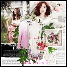 """""""Park Min Young"""" by mirmin ❤ liked on Polyvore"""
