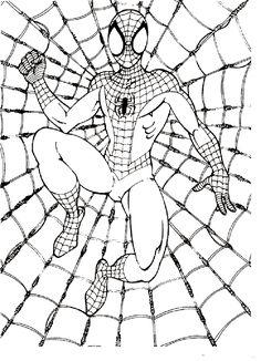 malvorlagen spiderman zum drucken 01 | superhelden malvorlagen, ausmalbilder, herbst ausmalvorlagen