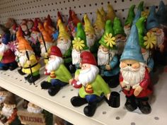 My garden will have at least one gnome... Just because :)