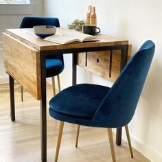 Dining Table Small Space, Low Back Dining Chairs, Tiny Dining Rooms, Dining Table In Living Room, Small Table And Chairs, Dining Table With Leaf, Small Kitchen Tables, Dining Table Design, Drop Leaf Table