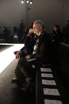 Backstage at Vivienne Westwood #AW1516 MAN