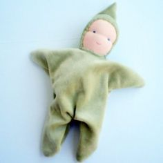 How to make a simple Waldorf Doll for Infants - these are so cute and every baby's favorite!