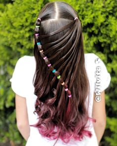 All of these hair-styles represent fairly simple as well as are a great option for beginners, fast and easy toddler hair-styles. Half Braided Hairstyles, Easy Hairstyles, Pixie Hairstyles, Natural Hair Styles, Short Hair Styles, Girl Hair Dos, Baby Girl Hairstyles, Toddler Hairstyles, Trending Hairstyles