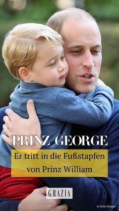Prinz George scheint nicht nur das süße Lächeln, sondern auch sein Engagement von Papa Prinz William geerbt zu haben. In diesem Bereich tritt er jetzt in seine Fußstapfen. #grazia #grazia_magazin #prinzgeorge #george #prinzwilliam #royals #royalnews Royal News, Prinz William, Not Interested