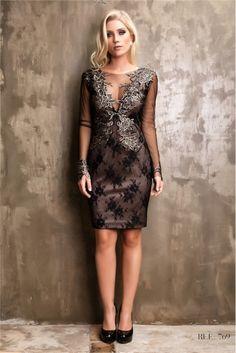 vestido de festa curto online