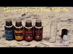 Pleasant Scents Foot Roll On