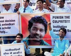 Hyderabad University revokes suspension of 4 dalit research scholars - http://thehawkindia.com/news/hyderabad-university-revokes-suspension-of-4-dalit-research-scholars/