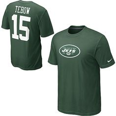 Wear your favorite player's digits with pride in this Nike® Name & Number Tim Tebow t-shirt.