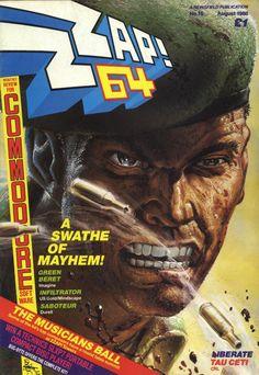 Zzap 64 - Green Beret (August 1986)