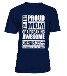 Best Sale -135Cheerleader - Proud mom of => Check out this shirt by clicking the image, have fun :) Please tag, repin & share with your friends who would love it. #handball #handballshirt #handballquotes #hoodie #ideas #image #photo #shirt #tshirt #sweatshirt #tee #gift #perfectgift #birthday #Christmas