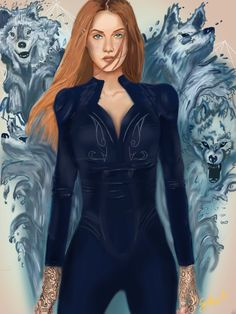 Incredible Feyre fan art! Capturing what she looks like is difficult but I think this one is the best !!!