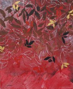 Peinture d'effeuillage XXXII 2013 100x81cm