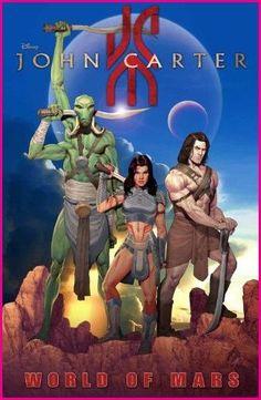 John Carter World Of Mars