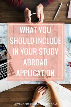You've made your decision: you're going to study abroad! But what should you include in your application? Click through to see the ultimate study abroad application check list!