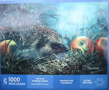 NEW! Hedgehog Urchin by Bridget Tavener - 1000 Piece WH Smith Jigsaw Puzzle