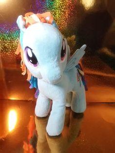 6428d393449f My Little Pony Rainbow Dash Plush Stuffed Soft Toy 2012 Funrise 10