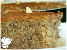 Greek Sweets, Greek Desserts, Greek Recipes, Cake Cookies, Banana Bread, Recipies, Healthy Eating, Baking, Food