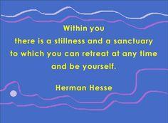 Herman Hesse - stillness within
