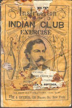 Indian Club Exercise Instruction