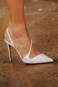 White shoes.