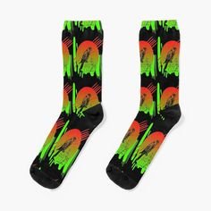 Arte Abstracto, Falcon, Abstract Bird Design. by Adri Barnard | Redbubble Funky Socks, Contemporary Abstract Art, Novelty Socks, Designer Socks, Bird Design, Trendy Colors, Streetwear Fashion, Chic Outfits, Winter Outfits