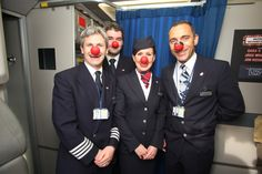 Our crew onboard for the 'Gig in the Sky'. #BritishAirways #airlines