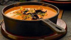 Chef Oropeza-crema de chile ancho