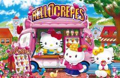 Hello Kitty / Crêpes