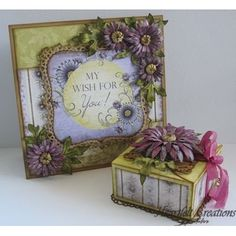 Heartfelt Creations - Delicate Asters and Gift Box Set Project
