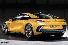 BMW i5 2021 render - rear
