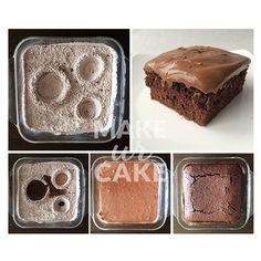 Crazy Wacky Cake - Ohne Ei, Milch und Butter!  Dieses und weitere Rezepte im Blog auf www.makeurcake.ch