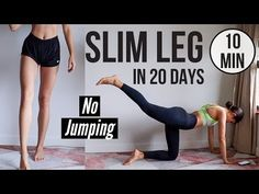 Do you feel lazy or unmotivated? Do you know you should workout but you don't want to? I know the feeling. Here is Best Workout Plans to Cut Fat and Get a sexy Body. Slim Legs Workout, Leg Workout Plan, 20 Min Workout, Leg Workout At Home, Workout Videos, At Home Workouts, Girl Workout, Workout Routines, Fitness Workouts
