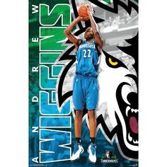 15ae67a30 Minnesota Timberwolves - Andrew Wiggins Basketball Posters