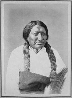 Black Bull-Ta-Tan-Kah-Sa-Pah. Brule Sioux, 1872 - NARA - 518985 - Alexander Gardner (photographer) - Wikipedia 1870s Fashion, Sioux, Waves, People, Painting, Google Search, Art, Art Background, Painting Art