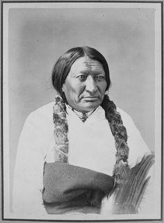 Black Bull-Ta-Tan-Kah-Sa-Pah. Brule Sioux, 1872 - NARA - 518985 - Alexander Gardner (photographer) - Wikipedia 1870s Fashion, Sioux, Waves, People, Painting, Google Search, Painting Art, Paintings, Ocean Waves