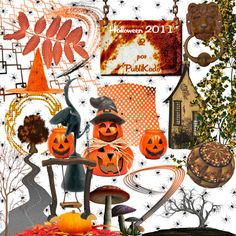 I  like this set for Halloween. Found by freebie engine on Oct 31, 2011