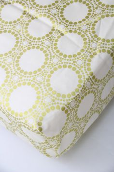 Gold Metallic Fitted Crib Sheet Changing Pad by RockyTopDesign
