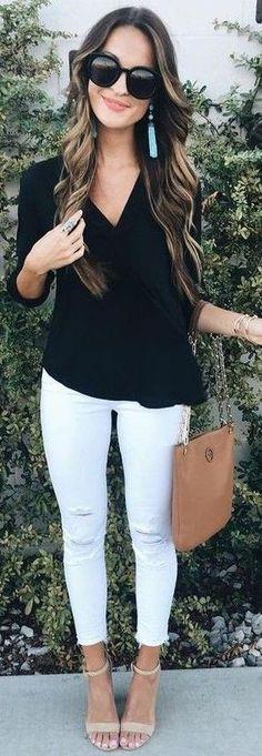 Cómo usar un pantalon blanco @lostruquitosdeellas