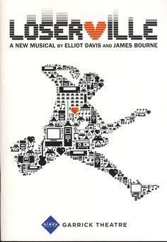 2013 Loserville Musical GARRICK Theatre Programme b1083