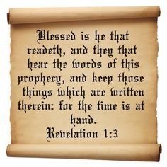 passages from evelations   Revelation 1 Verse 3   Inspirational Christian Quotes