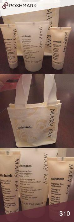 1635a6d72dcb1 Mary Kay fragrance free satin hands set Mary Kay travel size fragrance free  gift set Hand