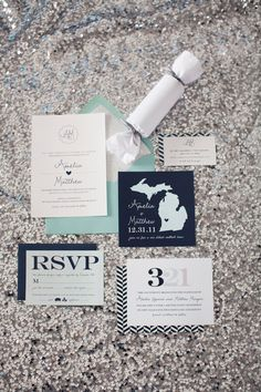 New Year S Eve Wedding Invitation Suite From Rhiannonnicole Nye Styled Shoot Photography By Jenna