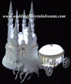 Lighted Castle + Large Coach 7 lit