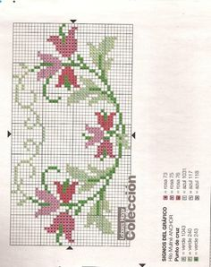 This Pin was discovered by Şen Celtic Cross Stitch, Mini Cross Stitch, Cross Stitch Borders, Cross Stitch Flowers, Cross Stitch Charts, Cross Stitch Designs, Cross Stitching, Cross Stitch Embroidery, Embroidery Patterns