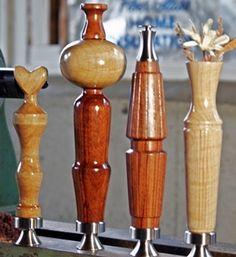 Unique Bottle Openers, Bottle Cap Opener, Wine Bottle Stoppers, Gifts For Wine Lovers, Stainless Steel Bottle, Fine Woodworking, Hand Blown Glass, Glass Bottles, Gallery