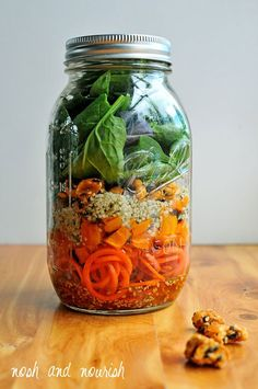 5 + Mason Jar Salads for Weight Loss and Total Health